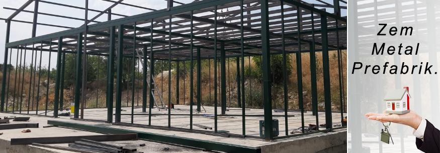Anahtar Teslim Çelik Konstrüksiyon Prefabrik Ev Yapımı